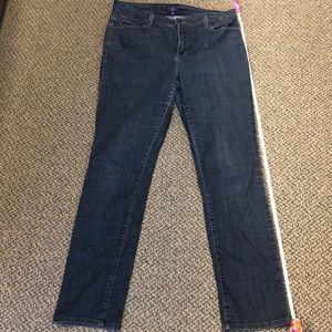 NYDJ skinny blue jeans Size 14